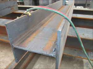High Quality Hot-Rolled Steel H Beam Ss400/ Ks Series pictures & photos