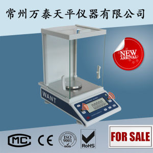 200g 0.1mg Analytical Balance with Windshield pictures & photos