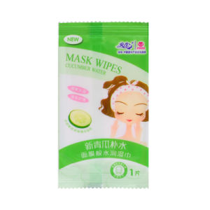 Cucumber Perfume Single Piece Cotton Moisturizing Wet Wipe pictures & photos