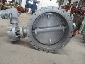 Tripple Eccentric Metal Seated Flange Butterfly Valve pictures & photos