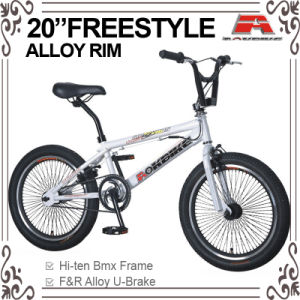 20 Inch U Brake 68h Spoke Freestyle BMX Bike (ABS-2015S) pictures & photos