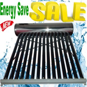 Non-Pressurized Stainless Steel Vacuum Tube Solar Energy Low/High Pressure Hot Water Heater (100Liter/150Liter/200Liter/250Liter/300Liter) , Solar Geyser pictures & photos