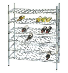 Adjustable DIY 6 Tiers Metal Liquor Bottle Display Rack Shelf Manufacturer pictures & photos