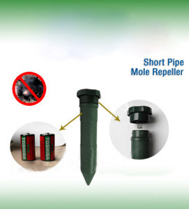 Battery Operated Tube Mole Repellent Mice Repeller Pest Trap pictures & photos