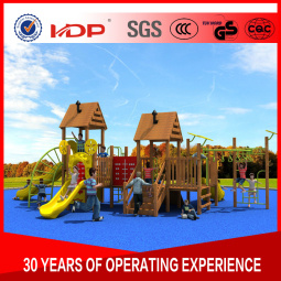 2017 Children Outdoor/Indoor Playground Slide Exercise Equipment OEM/ODM Orders Are Acceptalbe Wooden Series HD16-166A pictures & photos