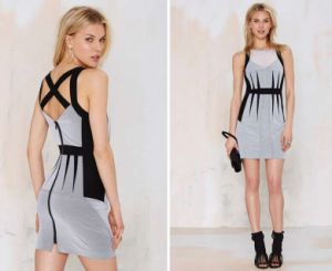 Best Seller American Shark Deco Bodycon Dress pictures & photos