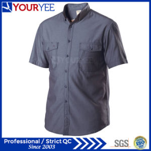 Wholesale Mechanic Work Shirts Short Sleeve Workwear (YWS112) pictures & photos