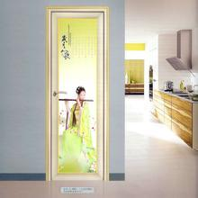 Aluminum Frame Tempered Glass Bathroom Shower Door pictures & photos