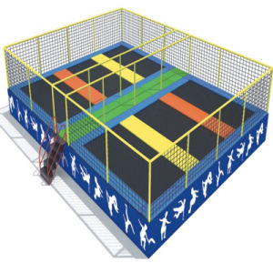 Newest Design Cheap Indoor Trampoline for Amusement Park pictures & photos