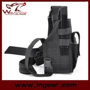 Nylon Drop Leg Pistol Holster Tactical Gun Holster 9044# pictures & photos
