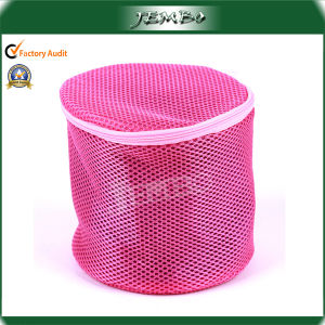 Cylindrical Mesh Washing Laundry Bag pictures & photos