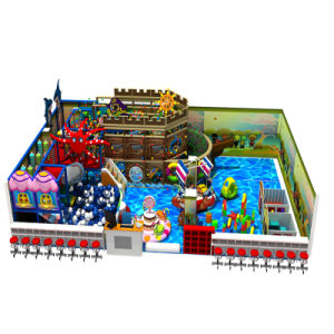 Cheap Natural Design Kids Indoor Playground for Shopping Mall pictures & photos