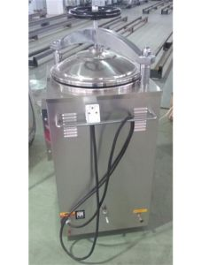 Vertical Autoclave with Pressure and Steam for Sale pictures & photos