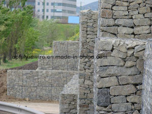 PVC Gabion Mesh Retaining Wall pictures & photos