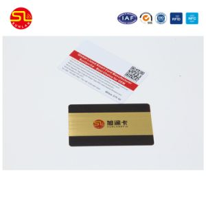 Wholelsae Customized Hot Gold /Silver Stamping PVC Card pictures & photos