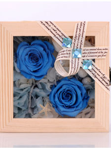 Wooden Preserved Flower Gift for Wedding pictures & photos