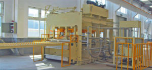 Short Cycle Laminating Hot Press Production Line pictures & photos