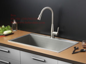 Stainless Steel Handmade Sink, Stainless Steel Kitchen Sink, Sinks pictures & photos