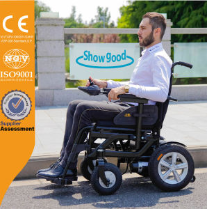 Showgood Smart Folding Electric Wheelchair for Elderly