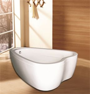 Heart Shape Double Bathtub (M-2012) pictures & photos