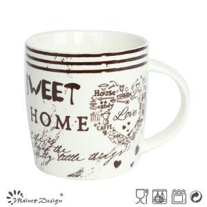 12oz Ceramic Mug with English Words pictures & photos