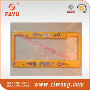 ABS Car Plate Frame Print Name and Logo pictures & photos