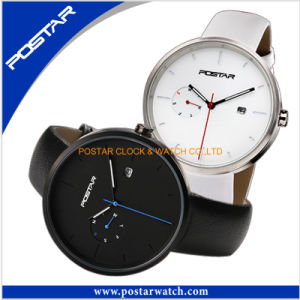 Black Classic Waterproof Quartz Watch for Women pictures & photos
