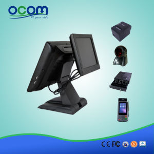 """15"""" Touch All in One POS Terminal with Dual Screen pictures & photos"""