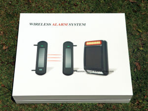 Solar Powered Wireless Beam Detector with 3 Beams (ES-S03120) pictures & photos