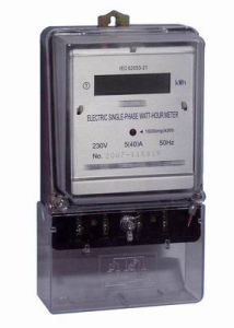 Single Phase Electronic Meter Measuring Instruments Kwh Meter pictures & photos