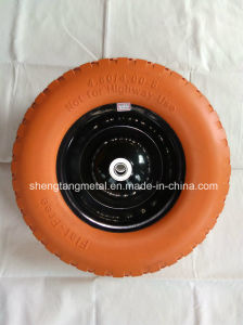 Flat Free Wheelbarrow Tire pictures & photos