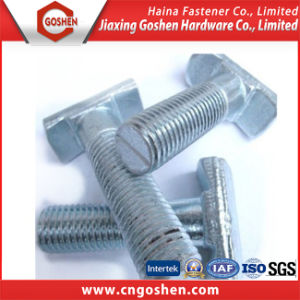 China Supplier Zn-Plated T Shape Head Wall Bolt pictures & photos