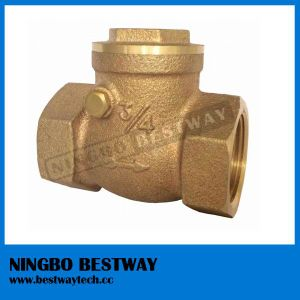 Hot Sale Bronze Check Valve Fast Supplier (BW-Q11A) pictures & photos