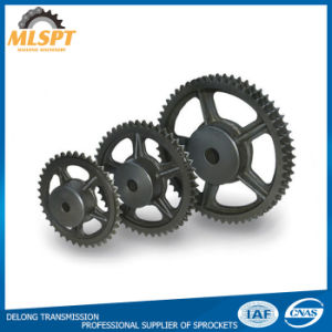 Black Cast Iron Agricultural Machinery Sprocket From China pictures & photos