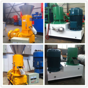 500kg/H Flat Die Wood Pelletizing Machine for Sale pictures & photos