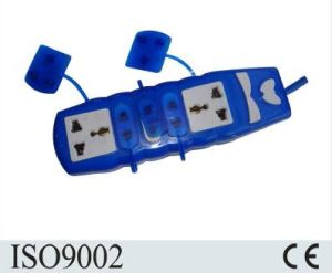 Wholesale UK Standard Extension Socket with Dust Shutter pictures & photos