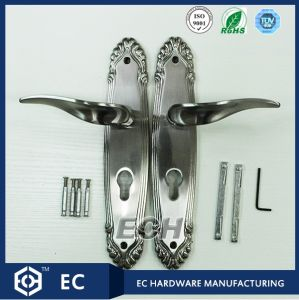Nickel Zinc Alloy Hotel Door Handle (M03)