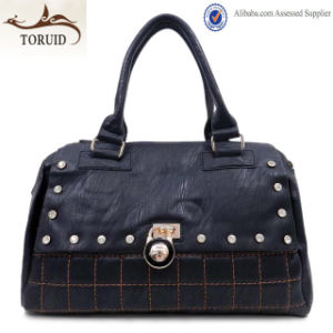 Promotional Cheap Price Leather Fashion Handbag for Ladies