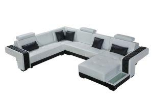 Modern Italian Leather Sofa 2211 pictures & photos