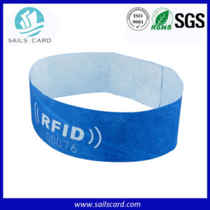 Length Adjustible RFID Wristband for Access Control Management pictures & photos
