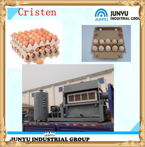 2015 Automatic Egg Tray Moulding Machine with High Quality