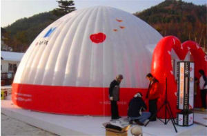 Giant PVC Tarpaulin Inflatable Party Tent for Auditorium Hall / Inflatable Wedding Tent pictures & photos