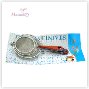 3PCS Kitchen Tools Sieves, Metal Colanders Mesh Strainers (Dia. 6/7/9 cm) pictures & photos