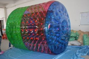 Inflatable Water Roller, Water Walking Roller, Human Lawn Roller, Funny Inflatable Wheel Roller, Rolling Ball pictures & photos