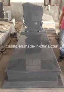 Chinese Dark Grey G654 Natural Stone Memorial Tombstone Monuments pictures & photos