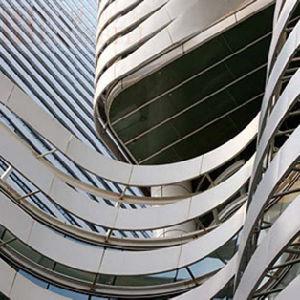 Arc Shape Processing Aluminum Panel for Architectual Design /Requirementdecoration pictures & photos
