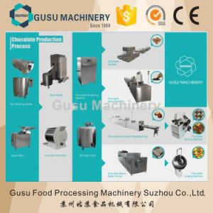 SGS Snack Food Machine Crunchy Wafer Chocolate Coating Enrober (TYJ800) pictures & photos