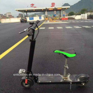 350W Foldable Lithium Electric Scooter with Seat Et-Es28, Electric Mobility Scooter pictures & photos