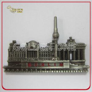 Custom Antique Plated Soft Enamel Metal Fridge Magnet pictures & photos
