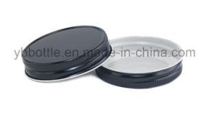 Black 70 Mason Jar Cap Metal Cap screw Cap for Mason Jars